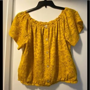 New NOBO lace blouse XL